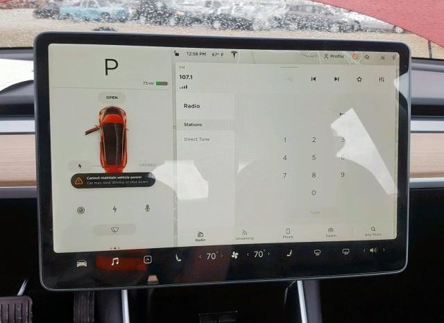 TESLA MODEL 3 LONG RANGE 2018